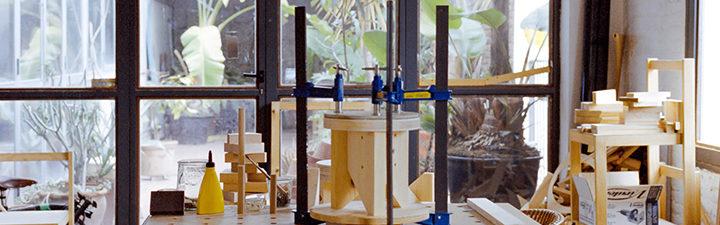 Taller del Curso de Verano en Diseño de Mobiliario