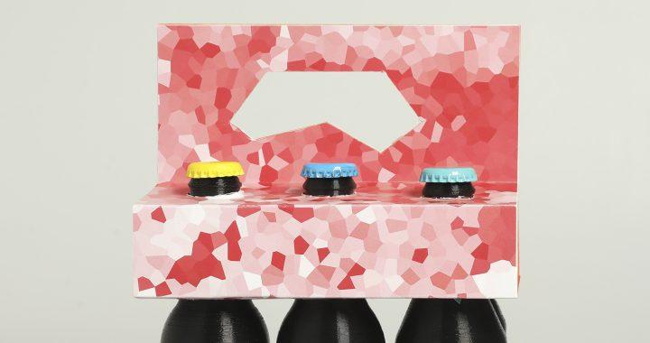 Proyecto de un packing de botellas del Summer Course in Packaging Design